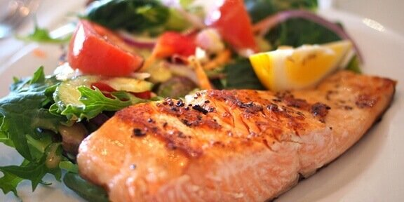 Fish, nutrients for brain