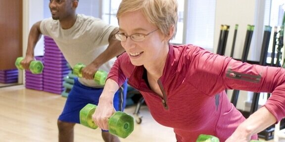 Exercise reduce risk of cancer.