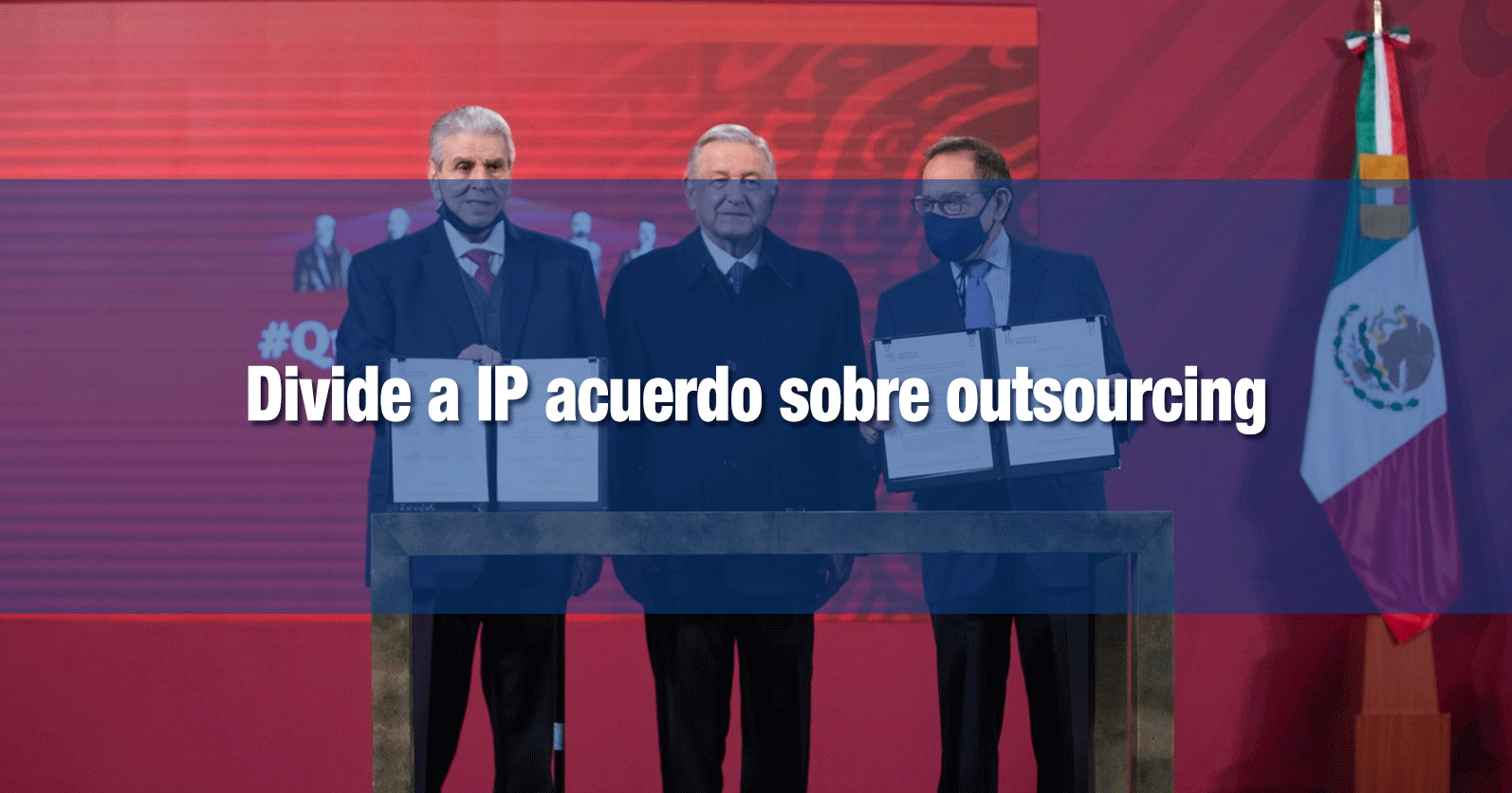 Divide a IP acuerdo sobre outsourcing
