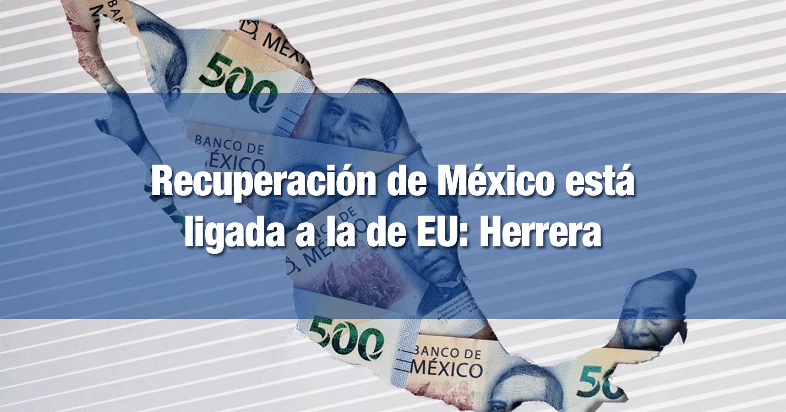 Recuperación de México está ligada a la de EU: Herrera