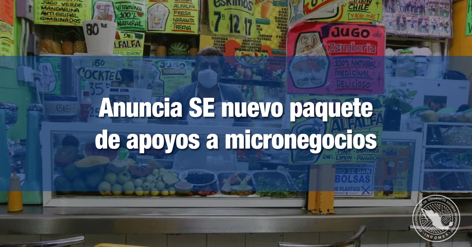 Anuncia SE nuevo paquete de apoyos a micronegocios