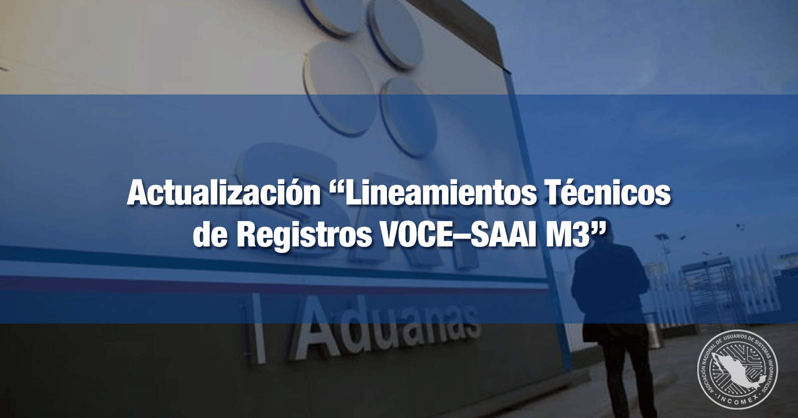"""Actualización """"Lineamientos Técnicos de Registros VOCE–SAAI M3"""""""