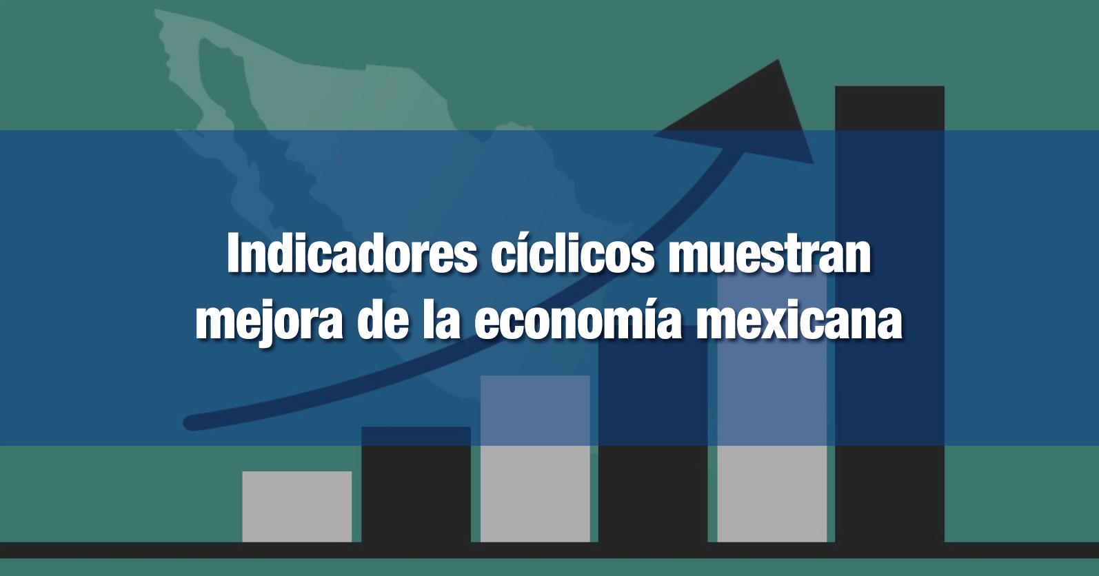 Indicadores cíclicos muestran mejora de la economía mexicana