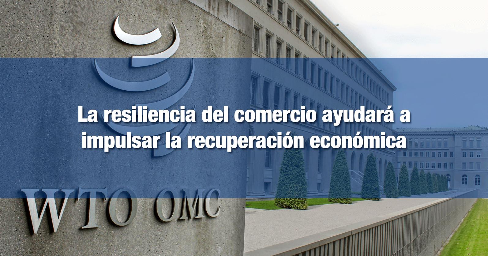La resiliencia del comercio ayudará a impulsar la recuperación económica