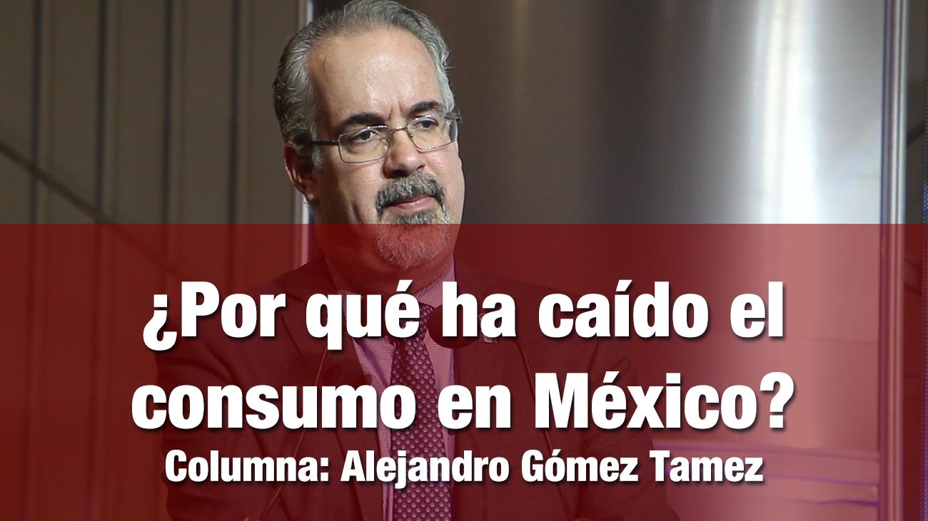 ¿Por qué ha caído el consumo en México?