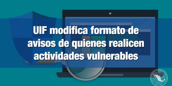 UIF Actividades vulnerables