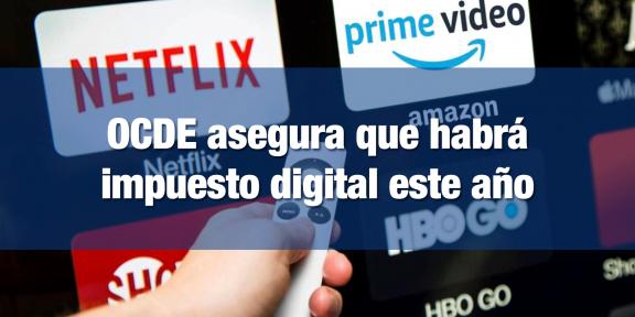 Impuesto a plataformas digitales OCDE
