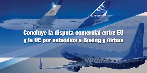EU y UE llegan acuerdo sobre subsidios aeroespaciales
