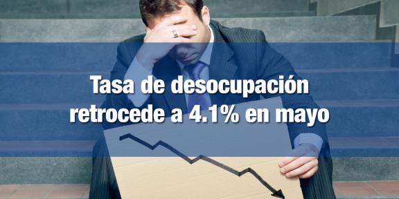 Desciende la tasa de desocupación