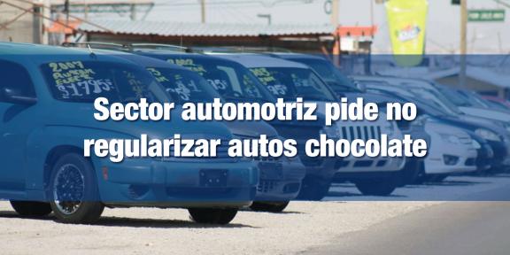 AMDA pide no regularizar autos introducidos ilegalmente al país
