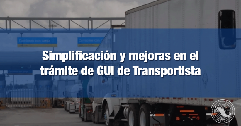 Modificarán trámite de GUI transportistas