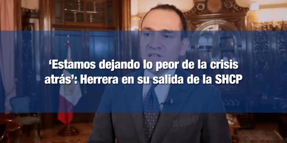 Arturo Herrera dejó la SHCP para buscar ser Gobernador del Banxico