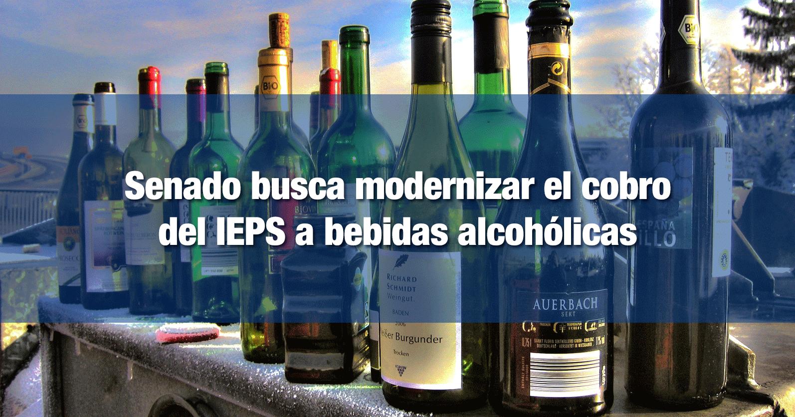 Senado busca modernizar el cobro del IEPS a bebidas alcohólicas
