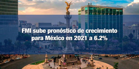 FMI mejora expectativas de crecimiento para México