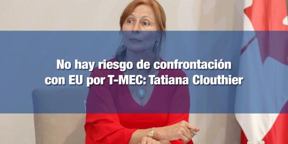 Secretaria de Economía descarta confrontación con EU