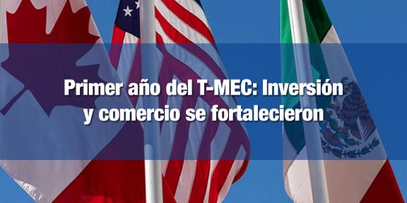 T-MEC impulsa el comercio e inversión