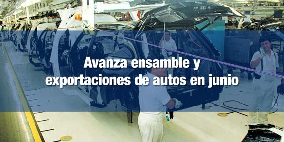 Repunta producción y exportación automotriz