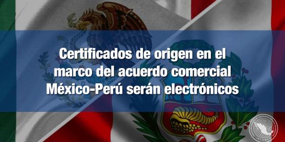 Certificados de origen serán electrónicos
