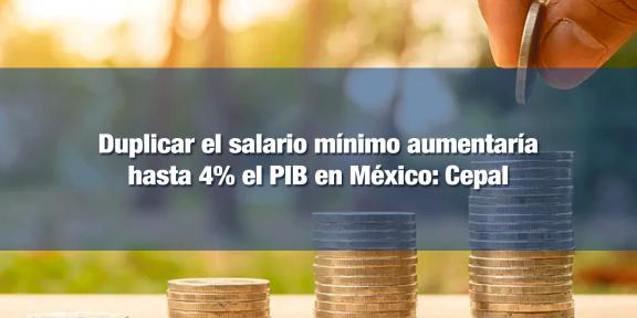 Aumento al salario mínimo fomentaría consumo y comercio