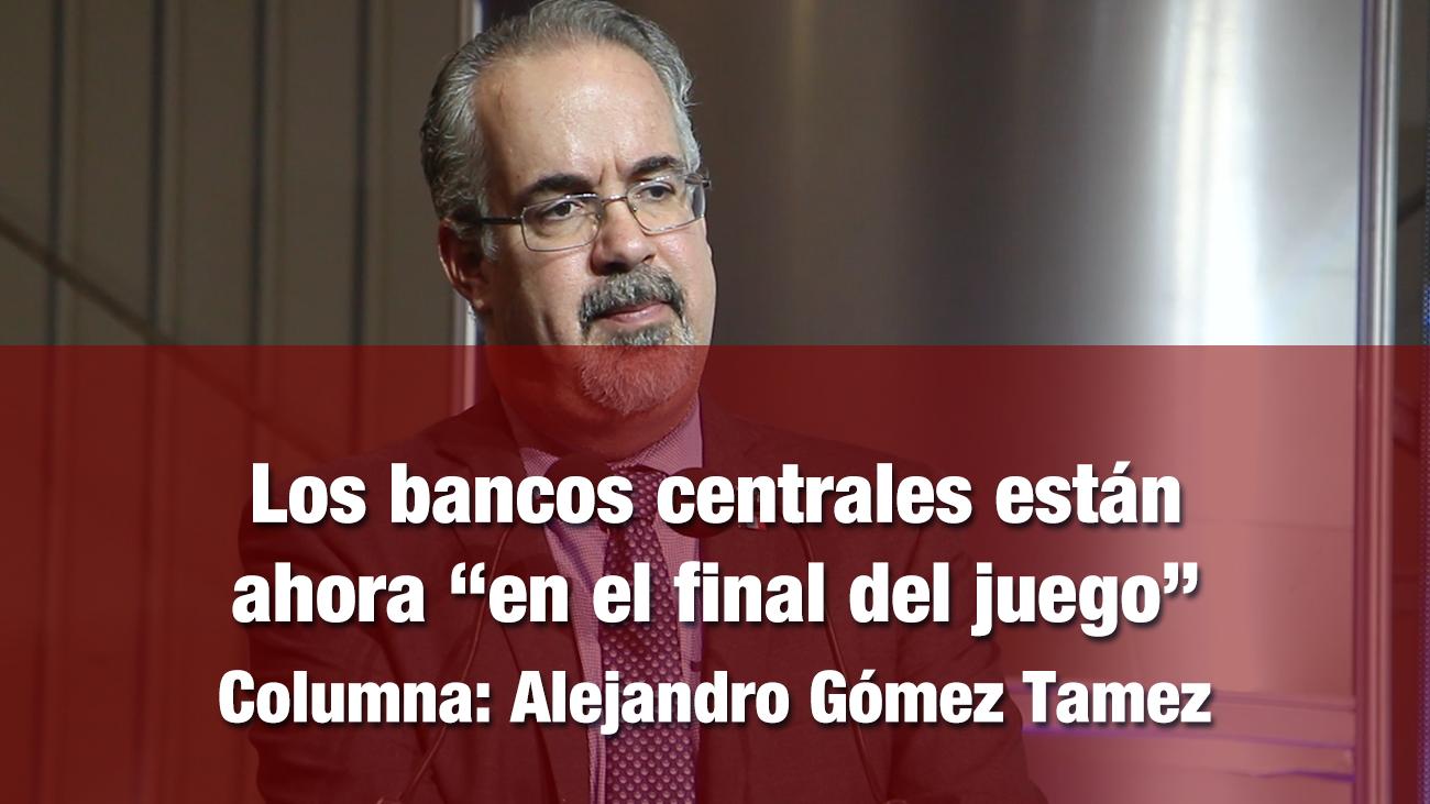 """Los bancos centrales están ahora """"en el final del juego"""""""