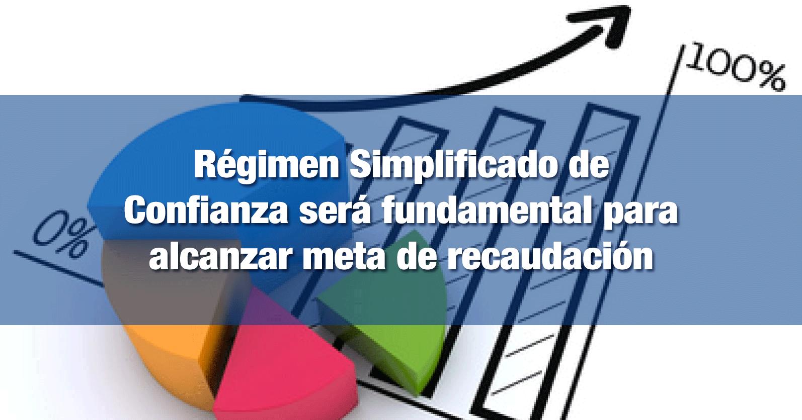 Régimen Simplificado de Confianza será fundamental para alcanzar meta de recaudación