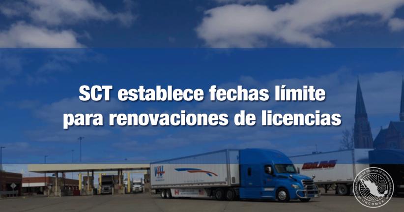 La renovación de la Licencia Internacional de Conductor se deberá realizar a más tardar el 30 de noviembre