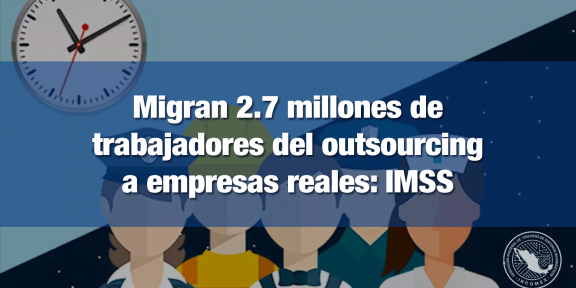 Sustitución patronal alcanza estimaciones del IMSS