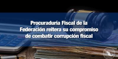 PFF perseguirá delitos fiscales