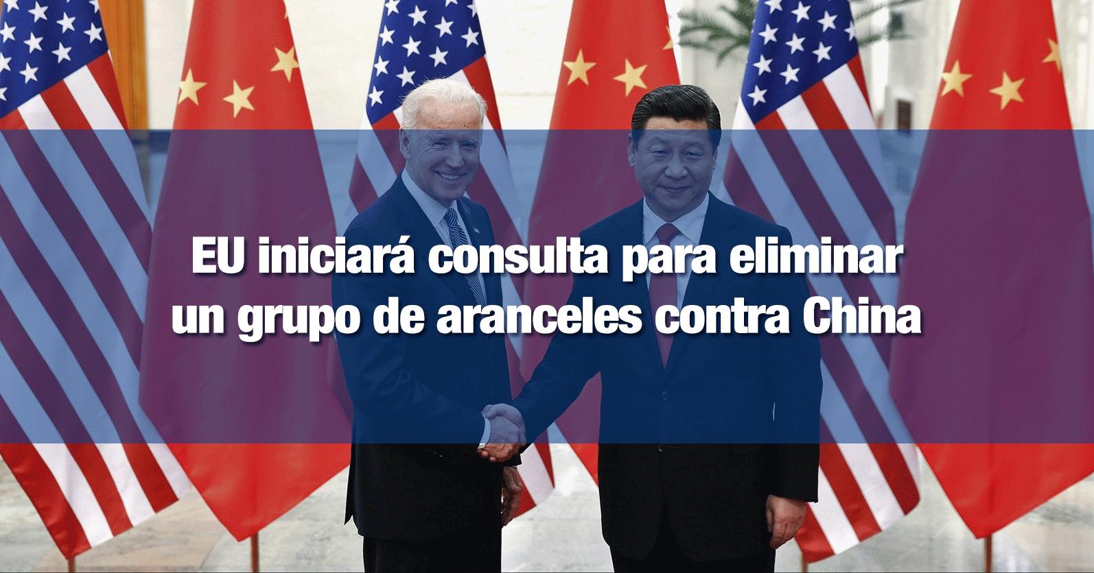 EU iniciará consulta para eliminar un grupo de aranceles contra China